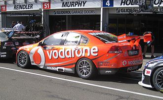 2012 International V8 Supercars Championship - Craig Lowndes placed second driving a Holden VE Commodore