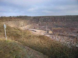 Holwell Quarries - Image: Holwellquarry