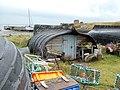 "Holy Island ""Boat"" sheds - geograph.org.uk - 383583.jpg"