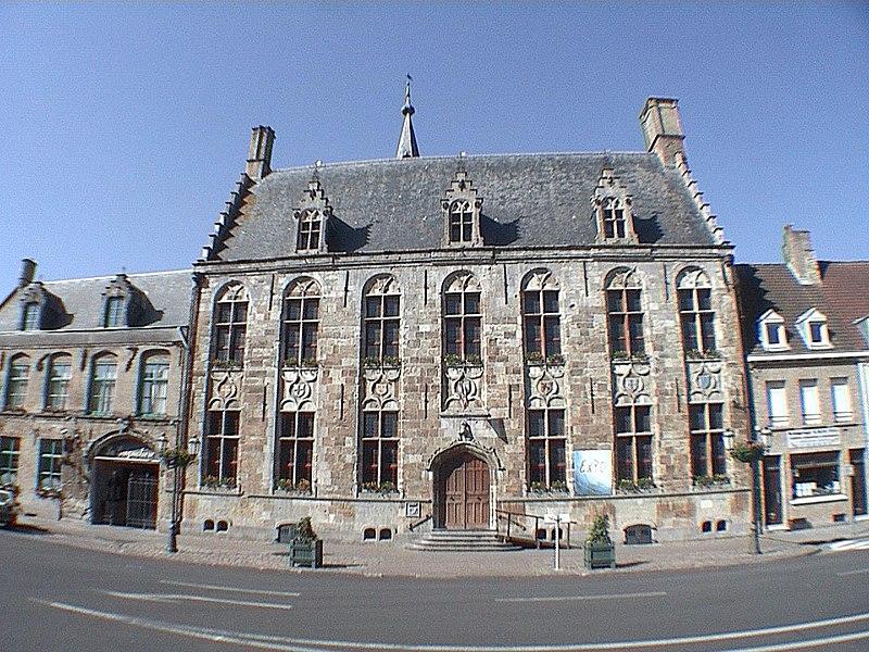 L'Hôtel de ville d'Hondschoote