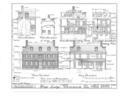Hope Lodge, Bethlehem and Skippack Pikes, Whitemarsh, Montgomery County, PA HABS PA,46-WHIM,2- (sheet 6 of 12).png