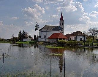 Horná Seč - Church in Horná Seč