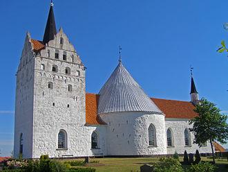 Horne Church - Horne Church, Funen.