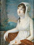 Hornemann-Bildnis einer verträumten jungen Frau, einen Liebesbrief haltend.jpg