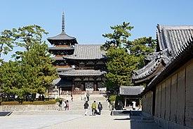 法隆寺地域の仏教建造物の画像 p1_1