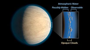 Hot Jupiter - Image: Hot Jupiter with Hidden Water