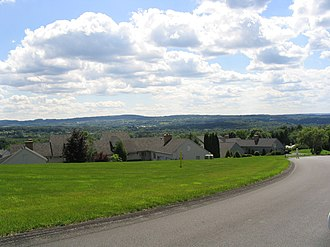 Manlius, New York - A neighborhood in the hills of the town of Manlius outside the village of Manlius
