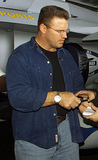 Howie Long American football player and announcer