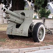Howitzer 155 mm mle 1917 Saumur img 2310