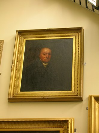 Broadstone Castle - Thought to be Hugh Brown of Broadstone. Hanging in Beith Library.