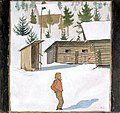 Hugo Simberg - Winter - A II 968-48 - Finnish National Gallery.jpg