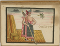 Huitziláihuitl, the Second Aztec King (Reigned 1395–1417) WDL6719.png
