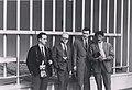Hulio Šmid, Ernst Beranek, Gojko Varda i Niko Kralj, 1963. godina.jpg