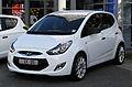 Hyundai ix20 Classic – Frontansicht, 26. Juni 2011, Düsseldorf.jpg