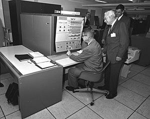 IBM System/360 Model 40 - IBM System/360 Model 40 at the USDA