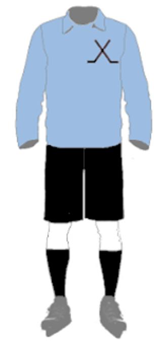 1909 Inter-State Series - Image: IHA Uniform NSW 1909