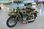 IMZ-Ural Motorcycle - Evergreen Aviation & Space Museum - McMinnville, Oregon - DSC00605.jpg