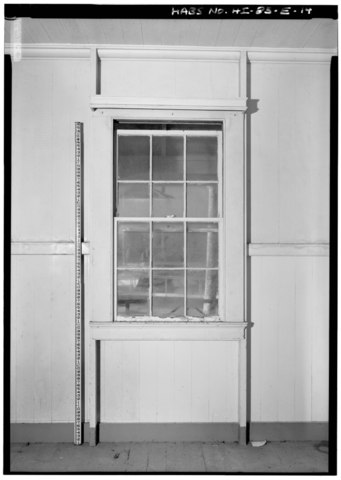 File:INTERIOR VIEW, TYPICAL WINDOW ELEVATION ON NORTH WALL NORTHEAST ...