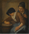INTERIOR WITH A MAN AND A WOMAN SMOKING.PNG