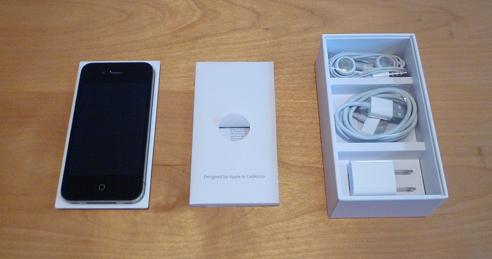 IPhone 4 box no lid