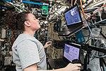 ISS-57 Serena Auñón-Chancellor trains in the Destiny lab.jpg