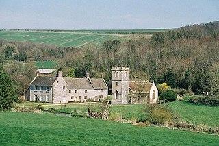 Nether Cerne human settlement in United Kingdom
