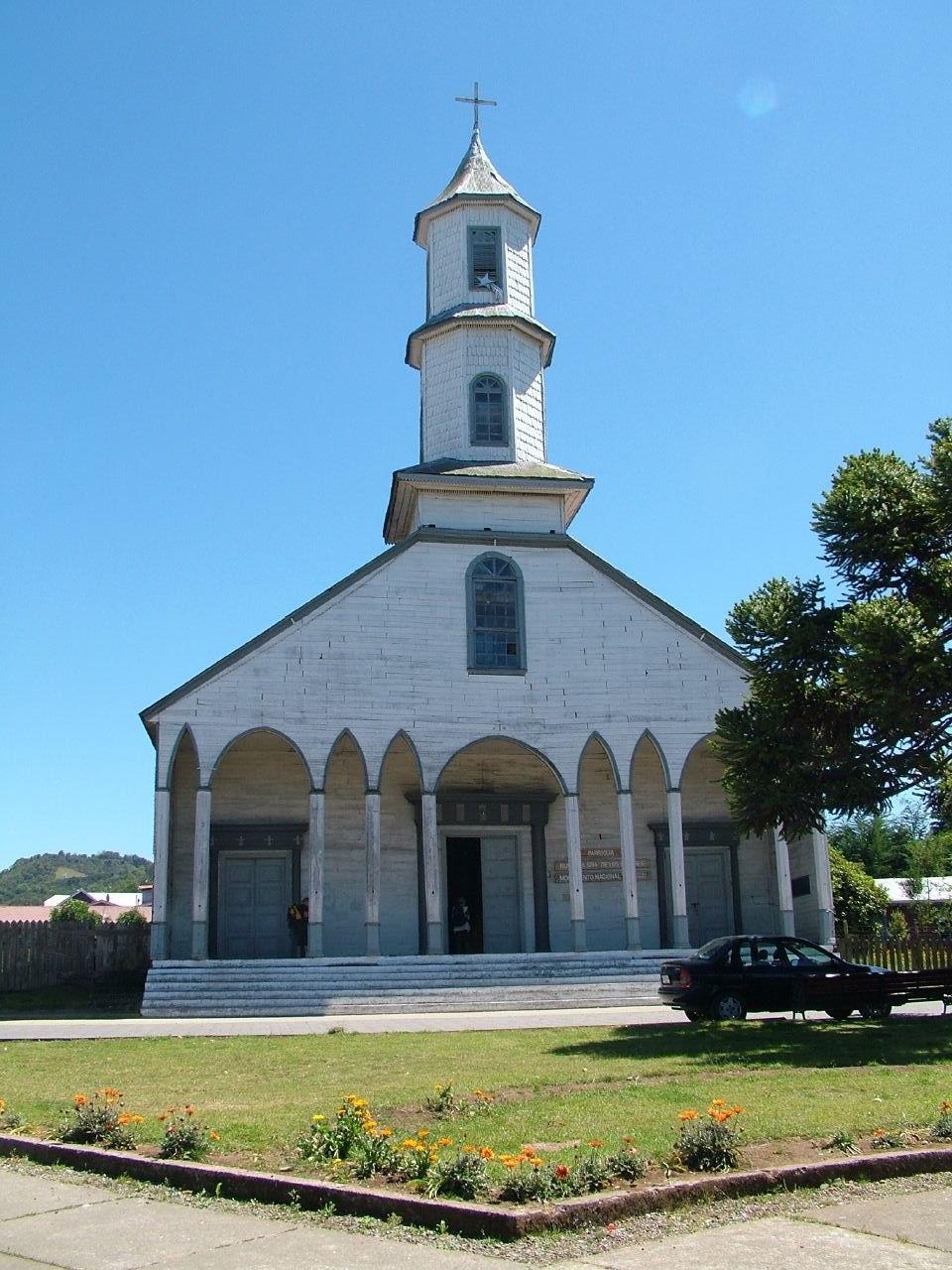 Iglesia de Dalcahue-fachada