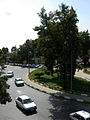 Imam Khomeini st view from skyway - Nishapur 5.JPG
