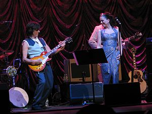 Imelda May - Imelda May and Jeff Beck at the Beacon Theatre, March 28, 2011