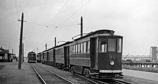 Immingham Dock electric railway station