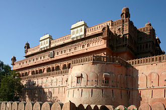 History of Bikaner - Junagarh Fort