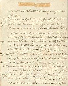Et håndskrevet dokument