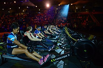 Maple Leaf Gardens - The indoor rowing event held at Mattamy Athletic Centre for the 2017 Invictus Games.