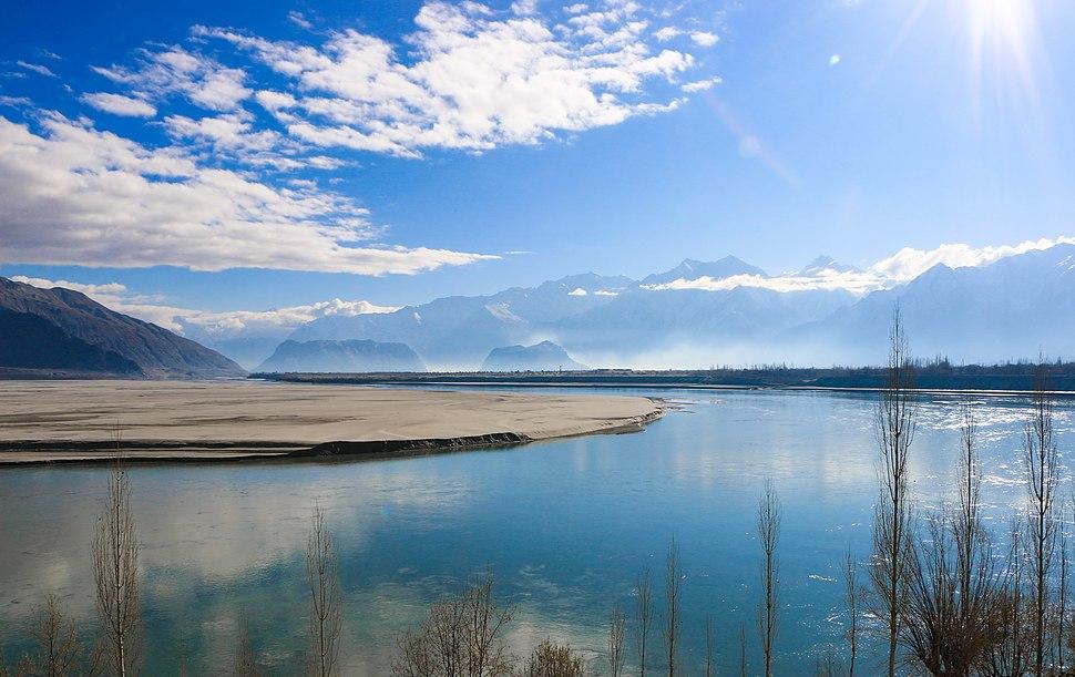 Indus at Skardu (1)