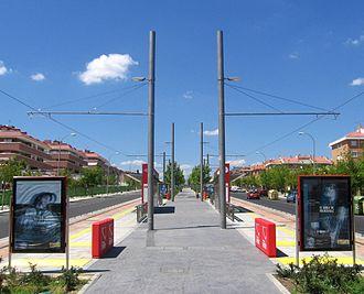 Infante Don Luís (Madrid Metro) - Image: Infante Don Luis ML3