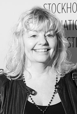 Inger Nilsson under Stockholm International Film Festival 2015.