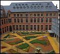 Inner Courtyard of a 19th Century Institutional Building - panoramio.jpg