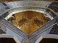 Interior of Blue (Kabud) Mosque - 2, Tabriz, Iran.jpg