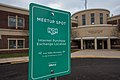 Internet Purchase Exchange Location Meetup Spot OfferUp Sign at Goodhue County Sheriff's Office, Red Wing, Minnesota (41078618391).jpg