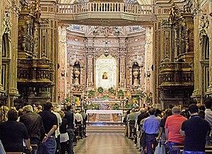 Santa Maria del Carmine, Naples - Image: Interno Carmine 2