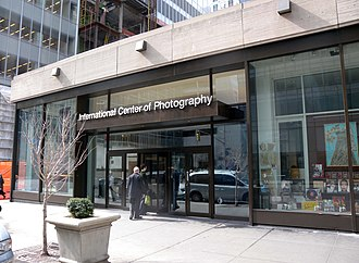International Center of Photography - International Center of Photography at its previous location on 6th Avenue and 43rd Street