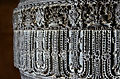 Intricate relief on pillar at Akkana Basadi.jpg