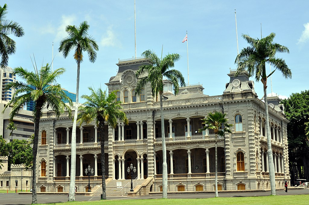 Iolani Palace Oahu Hawaii Photo D Ramey Logan.JPG