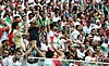 Iranian supporters in match against Morocco, 2018 FIFA World Cup 2.jpg