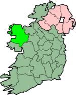 Placering af Mayo