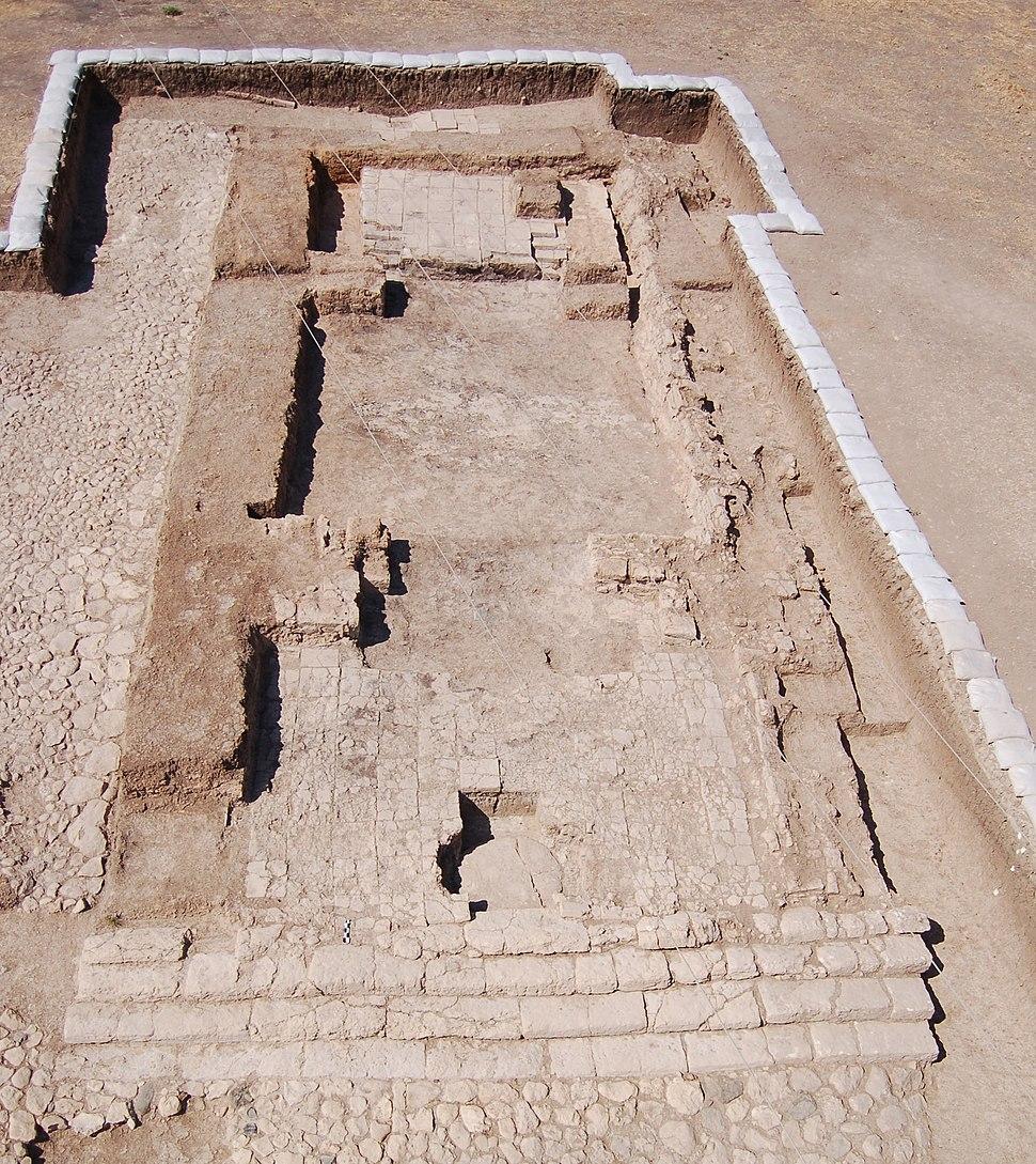 Iron Age Temple (photo credit Stephen Batiuk)
