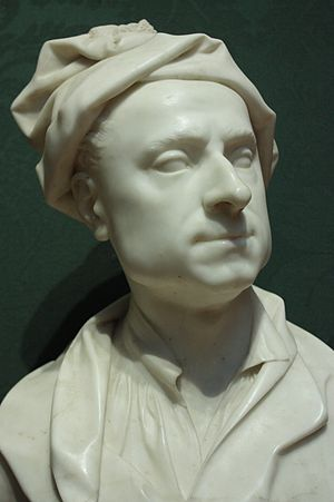 Isaac Ware - Isaac Ware by Roubiliac, 1741, National Portrait Gallery, London
