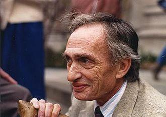 Israel Nathan Herstein - Israel N. Herstein in Berkeley, 1987