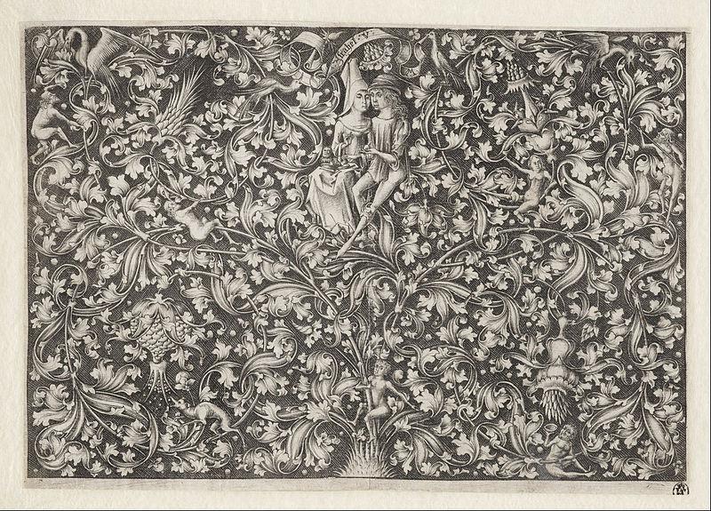 File:Israhel van Meckenem - Garden of Love - Google Art Project.jpg