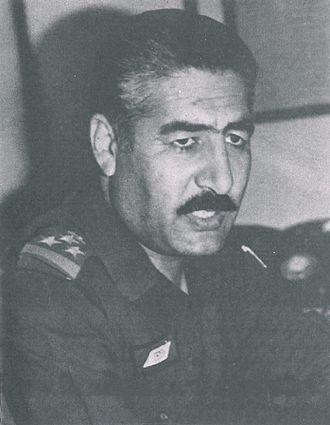 Ayad Futayyih Al-Rawi - Al Rawi in 1985 is Brig. Gen.